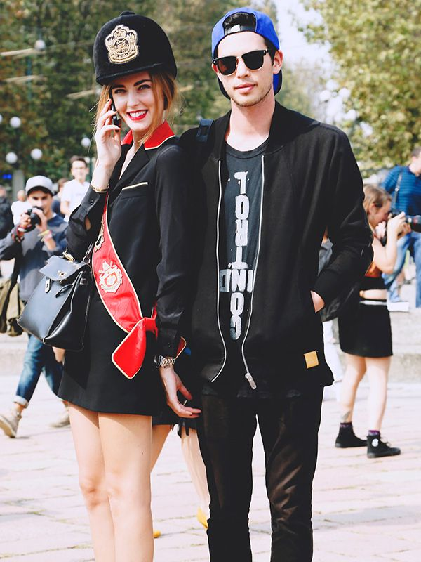 Andrew Arthur & Chiara Ferragni of The Blonde Salad