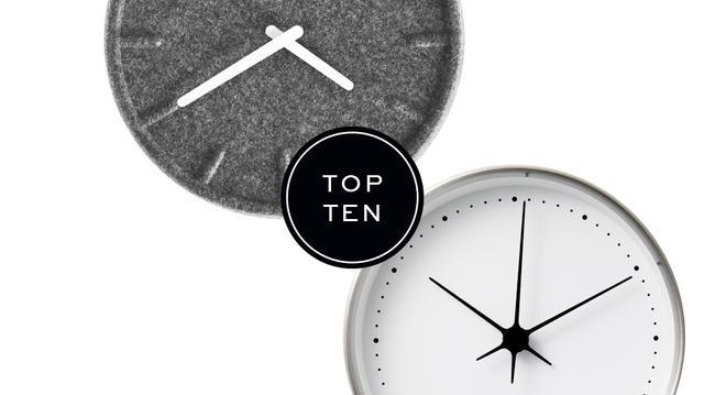 Top 10: Wall Clocks