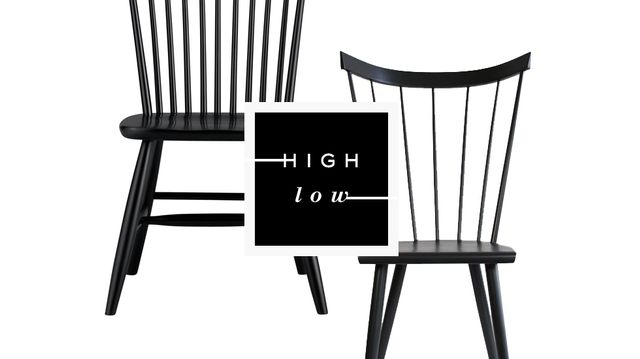 High Low: Windsor Chairs