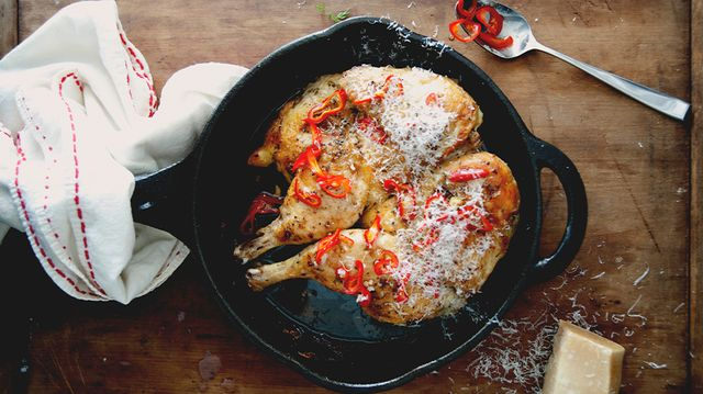 Recipe of the Week:<br>Roasted Chilli-Rubbed Chicken<br/>