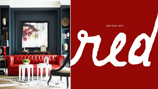 You Know You Want This: <br>Red Sofa<br/>