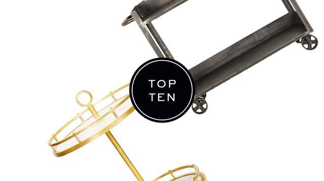 Top 10: Bar Carts