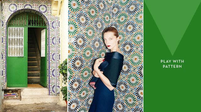 Having a Moment: Patterned Tiles