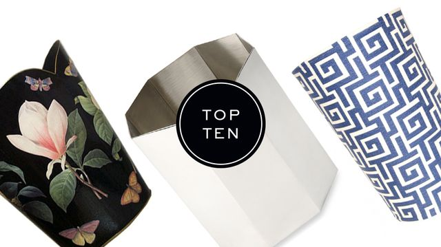 Top 10: Wastebaskets