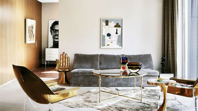 Shop the Room: Mixed Metal Lounge