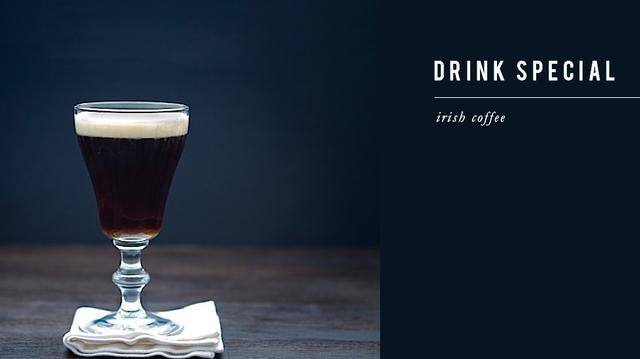 Drink Me: Irish Coffee
