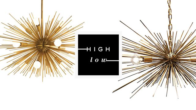 High Low: Starburst Chandelier