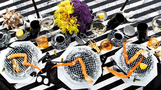 Halloween Entertaining: Beetlejuice Brunch