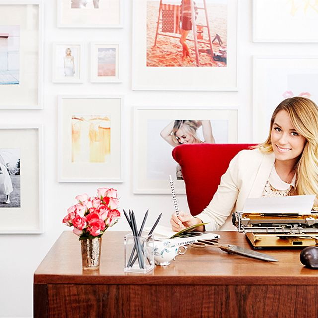 Lauren Conrad's Exclusive Office Makeover