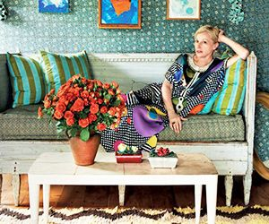 Cindy Sherman's Pattern-Packed Hamptons Farmhouse