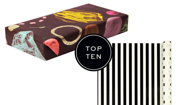 Top 10: Wrapping Papers