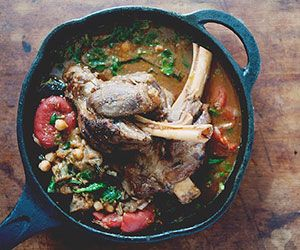 Recipe of the Week: Moroccan Lamb Shank