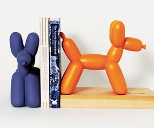 Your Shelves Need: Koonsian Bookends