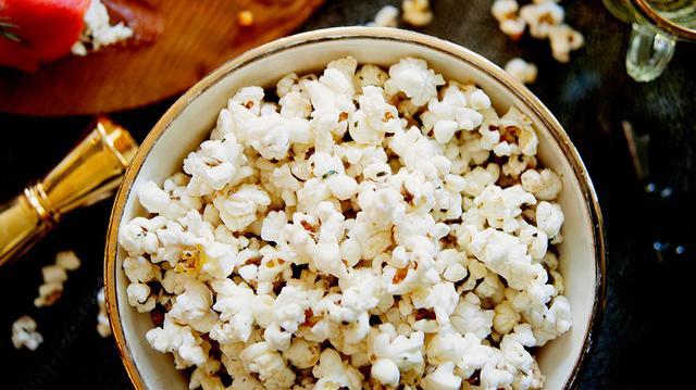 Herbed Parm Popcorn