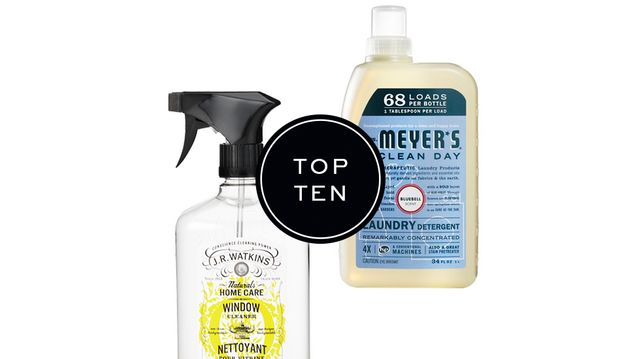 Top 10: Sources for Eco-Friendly Cleaning Products
