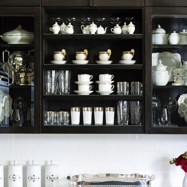Get Inspired: Black Kitchen Cabinets