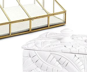 10 Jewelry Boxes as Fabulous as Your Gems