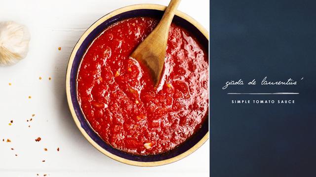 Giada De Laurentiis' Simple Tomato Sauce | MyDomaine