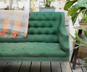 Fall in Love With a Linen Loveseat