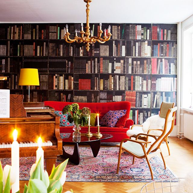 Home Tour: An Intellect's Glamorous Swedish Flat
