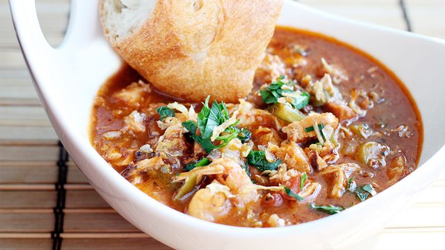 Tom Cianfichi's Kitchen Sink Gumbo