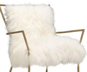 Glam Factor: Tibetan Fur Chair