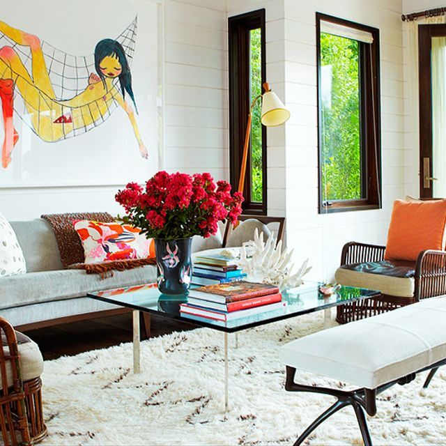 Home Tour: A Hamptons Oceanfront Art House