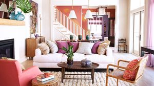 Home Tour: Southern Charm Meets Purple Power