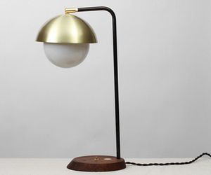 A Midcentury and American-Made Dome Lamp