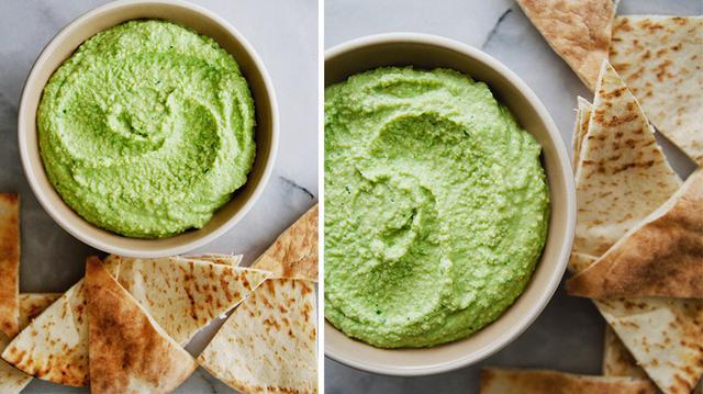 Spring Sweet Pea Hummus | MyDomaine
