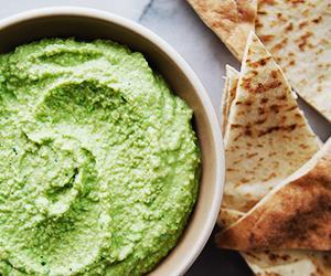 Spring Sweet Pea Hummus