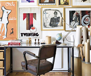 A Design Editor's Spirited Home Office