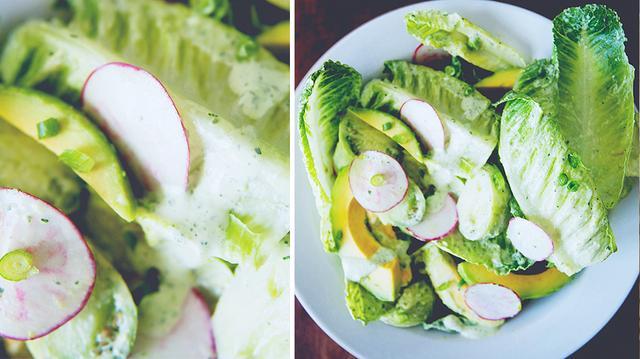 An Updated Classic: Green Goddess Salad | MyDomaine