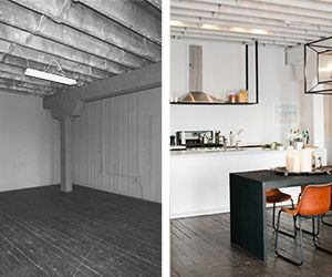 Before and After: An Industrial Kitchen Gets a Sophisticated Makeover