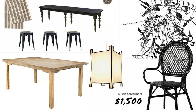Redo Your Entire Dining Room With $1500