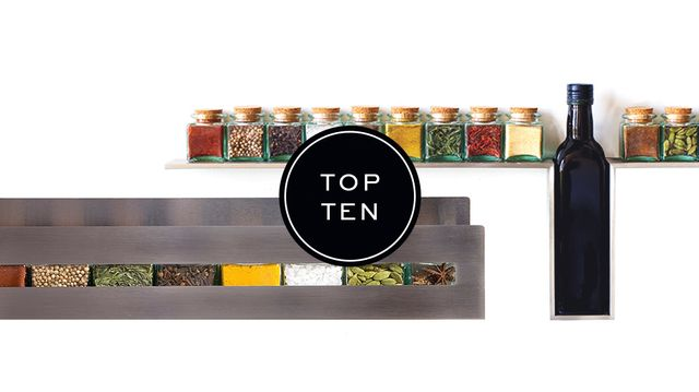 10 Stylish Spice Racks For a Flavorful Kitchen