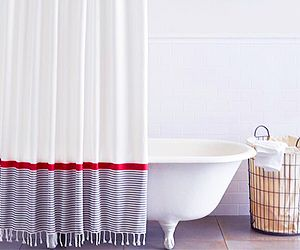 Bathroom Update: 10 Chic Shower Curtains