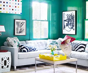 Why It Works: @OscarPRGirl's Bright, Glamorous Living Room