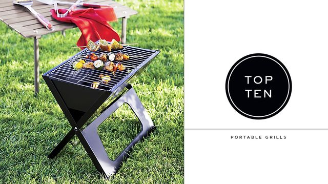 10 Great Portable Grills For Barbecue Season