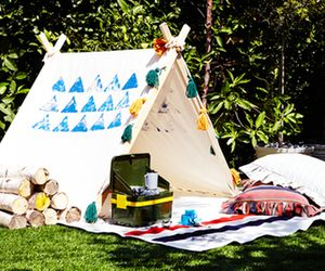 Everything You Need For a Camp-Themed Baby Shower