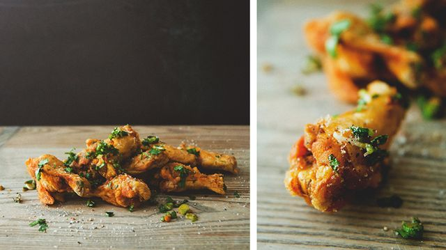 Addictive Sweet and Salty Chicken Wings