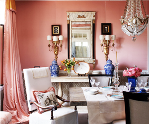 7 Perfectly Pink Rooms to Swoon Over