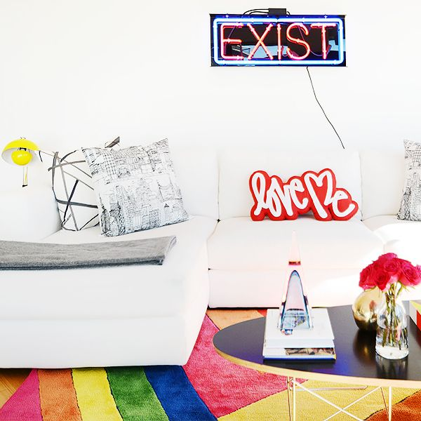 Home Tour: A Design Assistant's Technicolor New York Pad