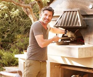 A Candid Patrick Dempsey Shows Us Around His Stunning Malibu Home