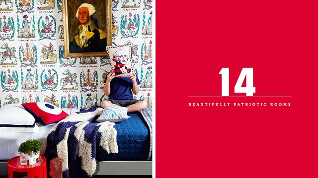 14 Beautifully Patriotic Rooms With Proud American Style