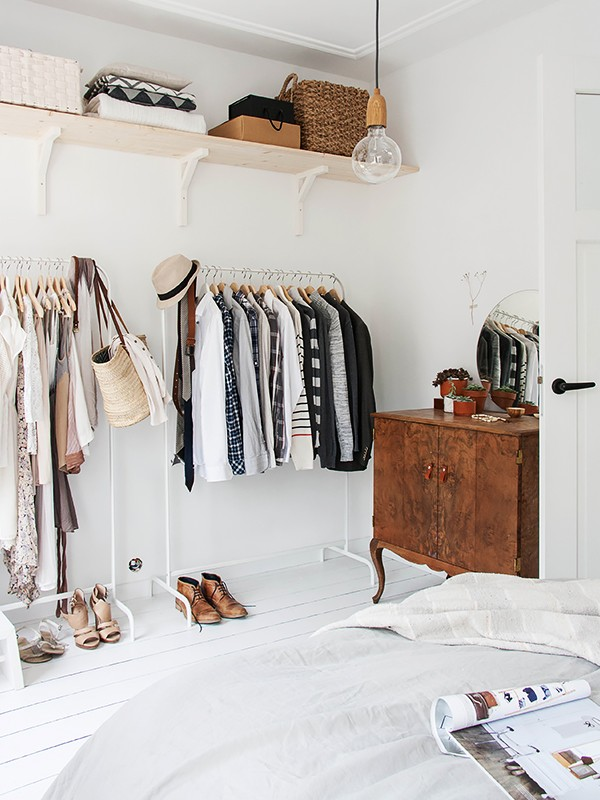 How To Maximize Closet Space When You Don 39 T Have One