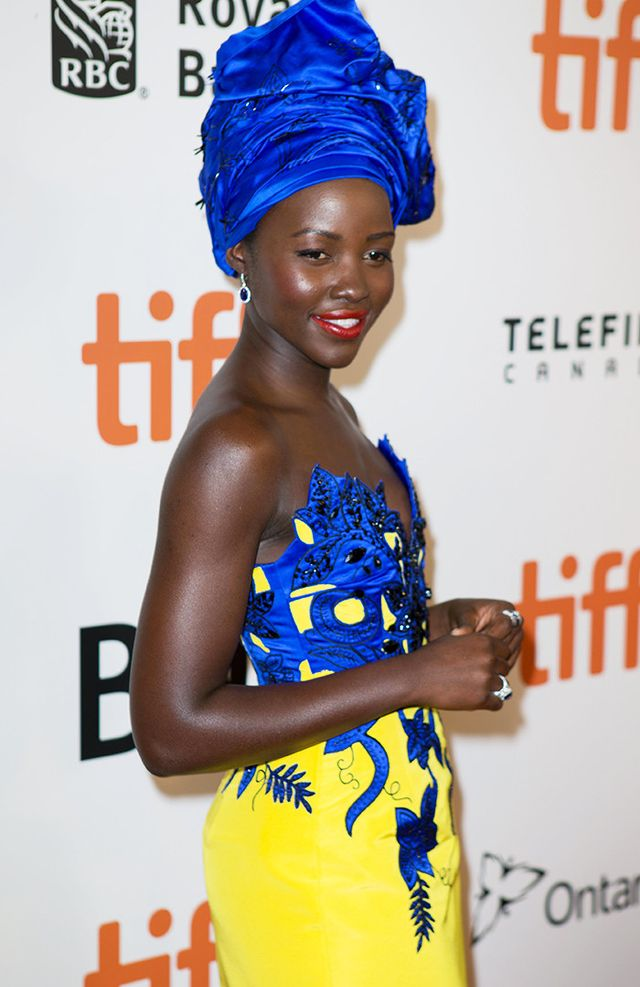 Best colours for skin tone: Lupita Nyong'o