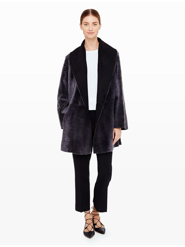 Club Monaco Shiloh Shearling Coat