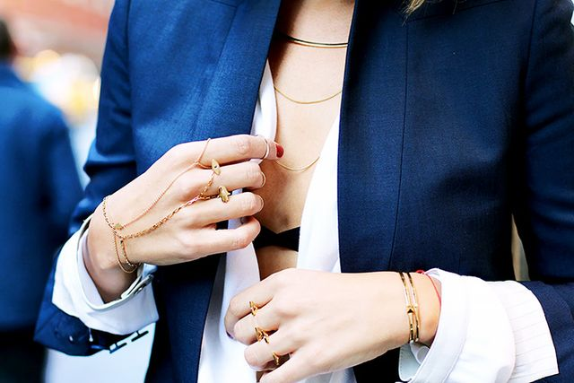 Secret 8: Get a minimalist look by layering simple chains—no pendants needed!